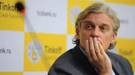 Олег Тиньков лишился $400 млн. за сутки