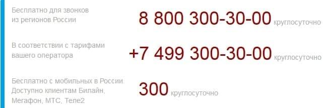Горячая линия Центрального Банка России (ЦБ РФ)