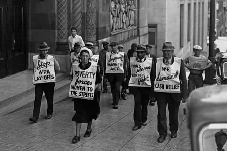 Что такое Великая депрессия в США?