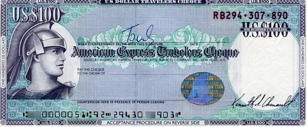 Что такое дорожные чеки?